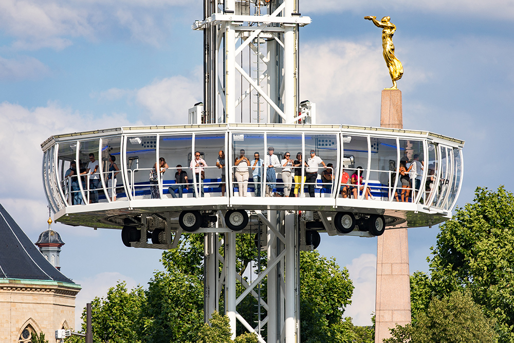 City Skyliner | Luxembourg City