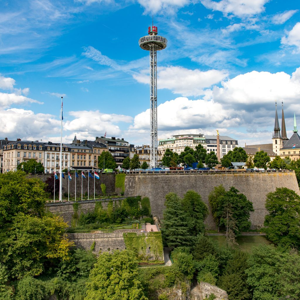 City Skyliner   Luxembourg