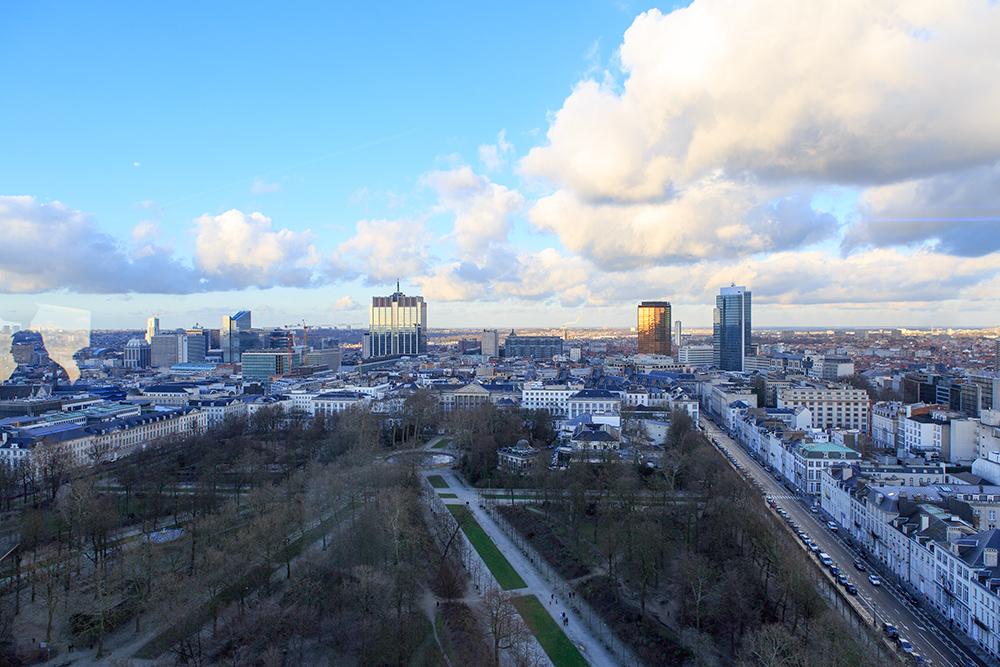 City Skyliner   Brüssel